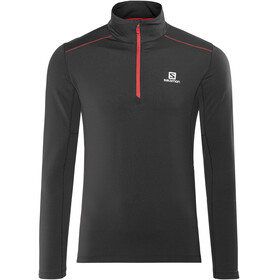Salomon Agile Warm HZ Midlayer Men Black